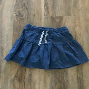 Blue skirt with shorts connected